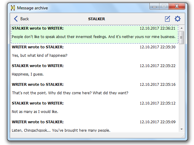 Click to view Winsent Messenger 2.3.27 screenshot